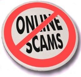 No-Online-scams-button